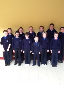 Junior Tidy Towns Committee 2013